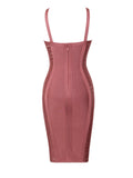 Romina Cut Out Hip Detail Bandage Dress