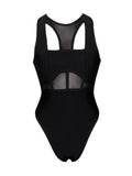 Hilda Sheer Detail Bandage Bodysuit