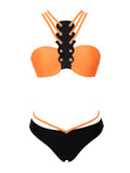 Mallorca Choker Style Halter Two Piece Swimsuit