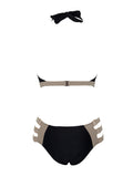 Las Palmas Cut Out Detail Monokini Swimsuit