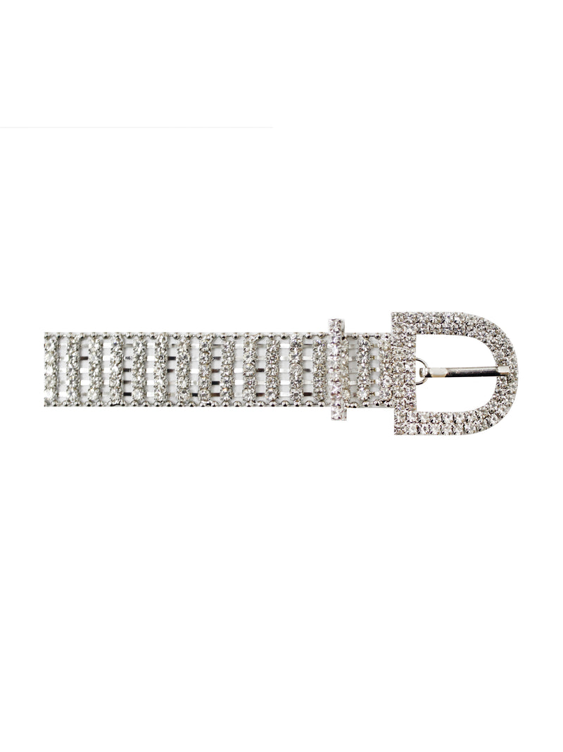 Crystal Embellished Belt - Miss Circle