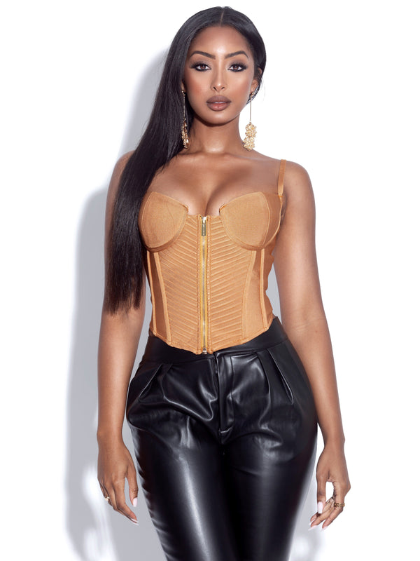 Pascale Tan Bandage Strappy Top