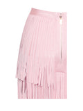 Dakota Two Piece Fringe Crop Top and Skirt