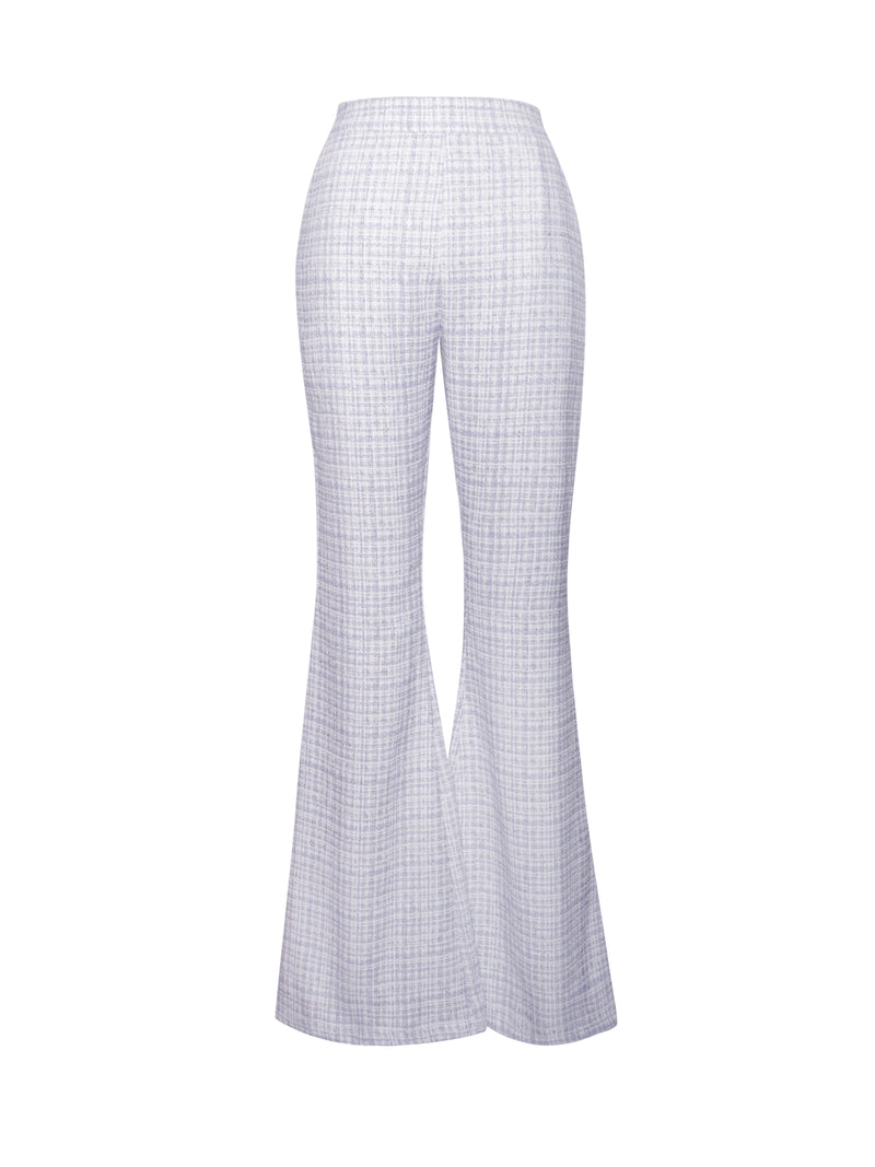 Irma Tweed Flared Trousers