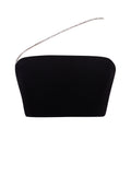 Vera Strapless Wired Bustier White Crop Top