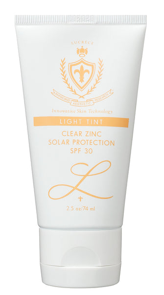 Clear Zinc Solar Protection, SPF 30 (w/light Tint Silicon)