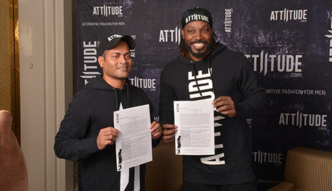 Attiitude signs Chris Gayle as global ambassador - Published by exchange4media