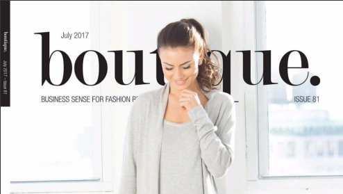 ATTIITUDE.COM FEATURED IN BOUTIQUE. JULY 2017 ISSUE