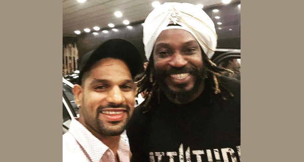 Shikhar Dhawan calls Chris Gayle The 'Jamaican Daler Mehndi' by NDTV SPORTS