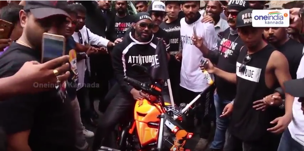 Attiitude.com brand ambassador Chris Gayle - Covered by OneIndia Kannada