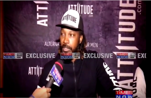 Attitude.com signs Chris Gayle - Covered by Times Now