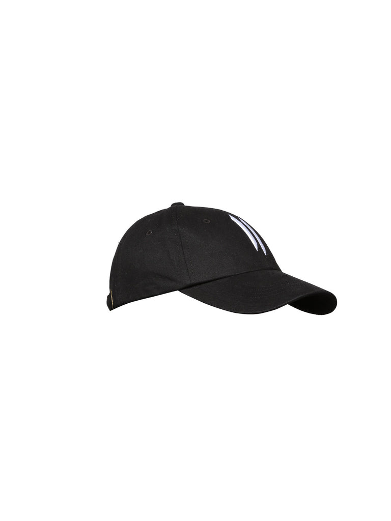 Attiitude Black Baseball Cap with Stitched detail