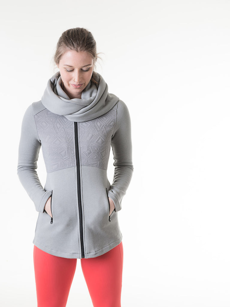 Coco Jacket in Ash Gray