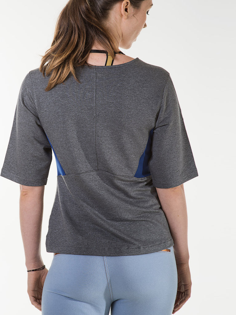 Daisy Tee in Heather Charcoal