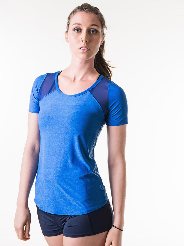 Harriet Tee in Cobalt