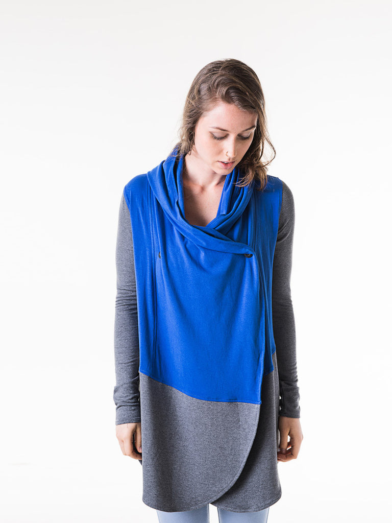Lola Wrap in Cobalt