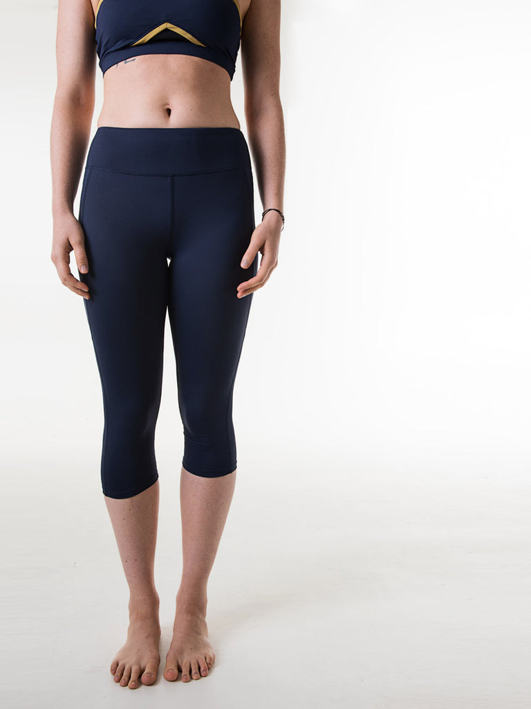 Louise Capris in Navy