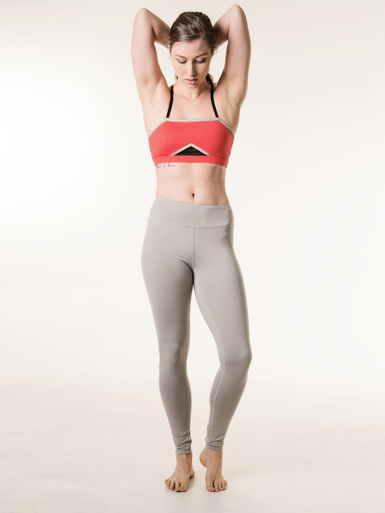 Sara Leggings in Light Gray