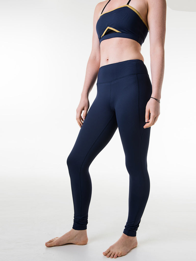 Sara Leggings in Navy