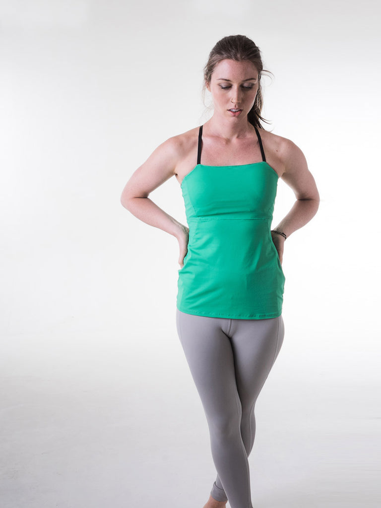 Mae Tank in Indian Green
