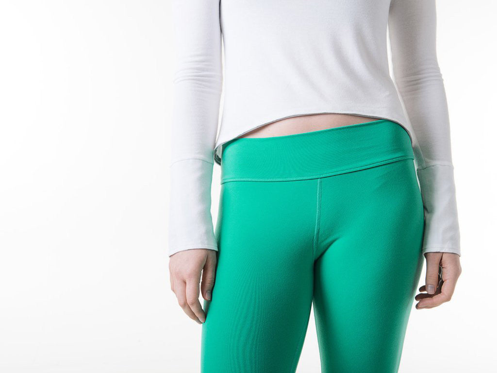Suzie Capris in Sea Green