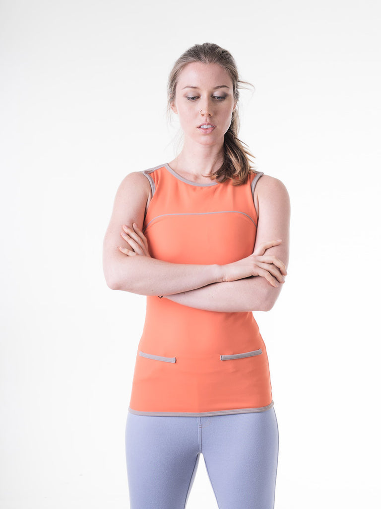 Twiggy Tank in Carrot