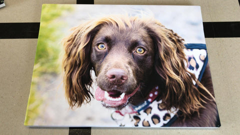 Your Photo and Message Personalised Canvas Print, Unique Gifts for Family & Friends