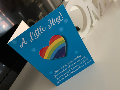 A Little Hug Card to Show Someone You Care During Isolation