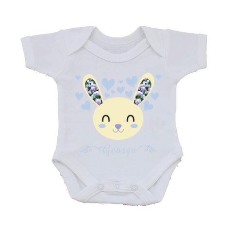 BB12 - Baby Bunny Personalised Baby Vest