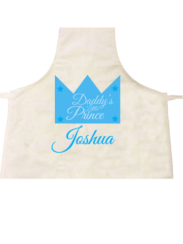 BB23 - Daddy's Prince/Princess Apron