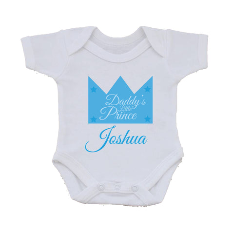 BB23 - Daddy's Prince/Princess Baby Vest