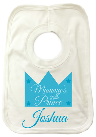 BB22 - Mummy's Prince/Princess Baby Bib