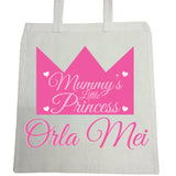 BB22 - Mummy's Prince/Princess Canvas Bag for Life
