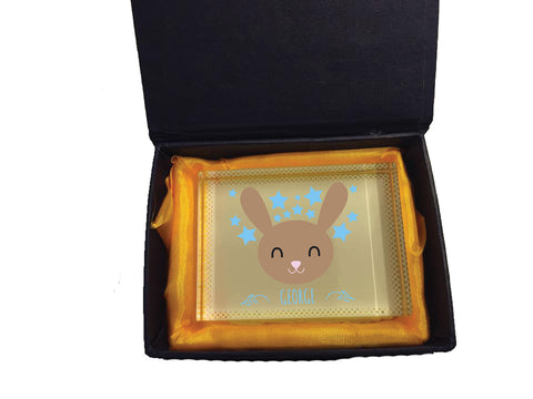 BB25 - Happy Bunny Crystal Block