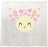 BB25 - Happy Bunny Personalised Tea Towel