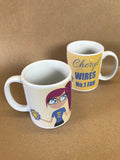 WW20 - Wire No 1 Fan Mug & White Box (Warrington Wolves)