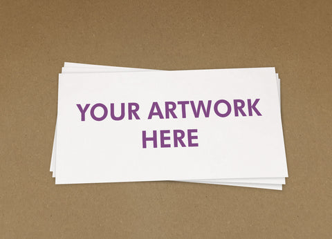 Your Artwork Compliment Slips from £22+VAT