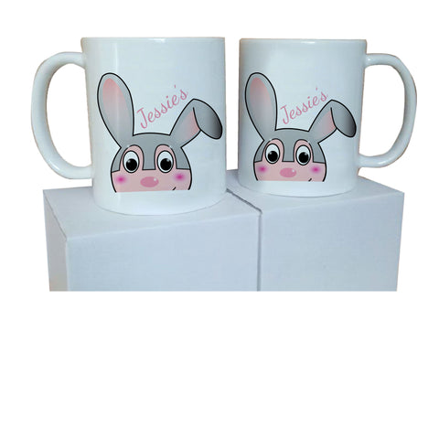 EA17 - Personalised Easter Jessica Rabbit Mug & White Box