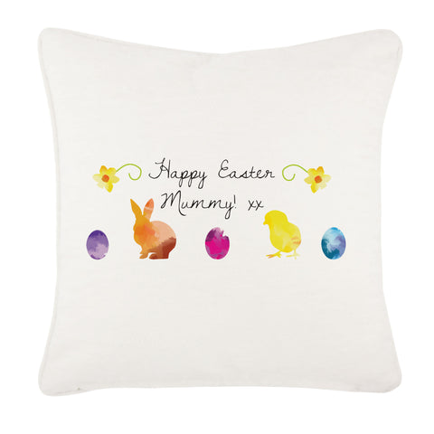 EA09 - Personalised Aztec Easter Bunny Cushion