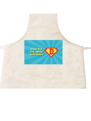 FD10 - Super Dad Personalised Apron