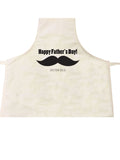 FD06- Large Moustache Father's Day Personalised Apron