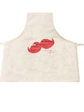 FD07 - Moustache Word Art Personalised Apron