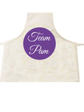 Team Name of Your Choice Personalised Cooking Apron