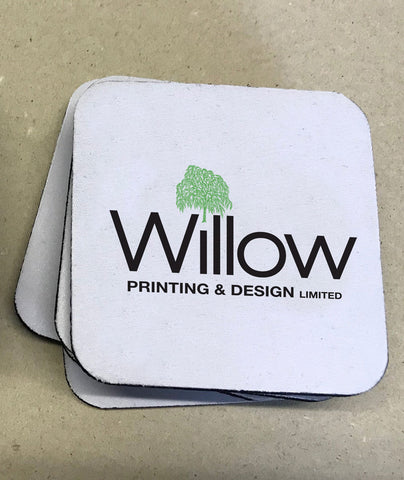 Promotional Branded Coasters (Foam Backed)