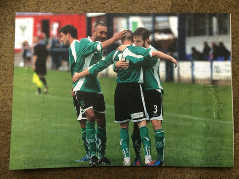 FC07 - Personalised Football, Rugby, Sports Photo Jigsaw Puzzle