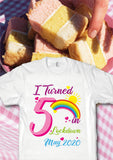 I Turned Age in Lockdown Birthday 2021 Month T Shirts for Adults and Children - Covid 19