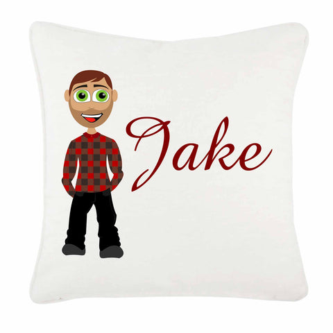 Jake Character Valentine's Personalised Cushion Cover