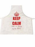 FD15 - Keep Calm Personalised Apron Ideal Gift for Dad or Grandad
