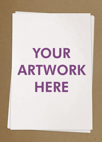 Your Artwork Letterheads from £25+VAT