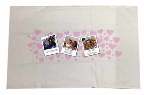 MO12 - Like a Mother Personalised White Pillow Case Cover